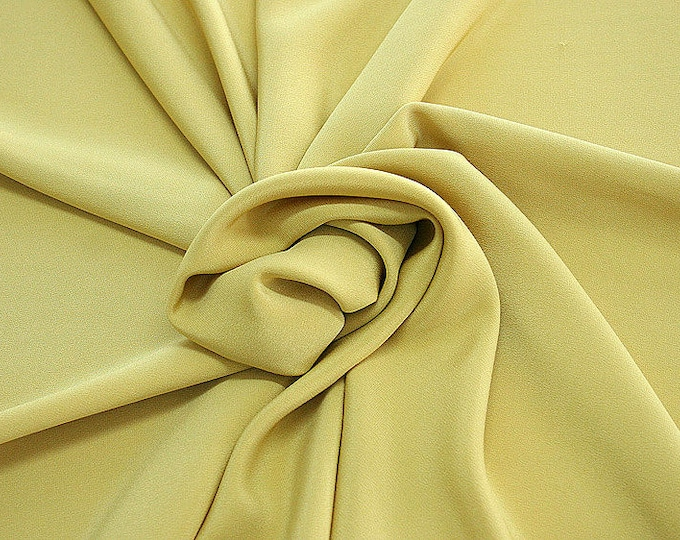 305070-Crepe marocaine, natural silk 100%, wide 130/140 cm, made in Italy, dry washing, weight 215 gr, Price 0.25 meters: 26.09 Euros
