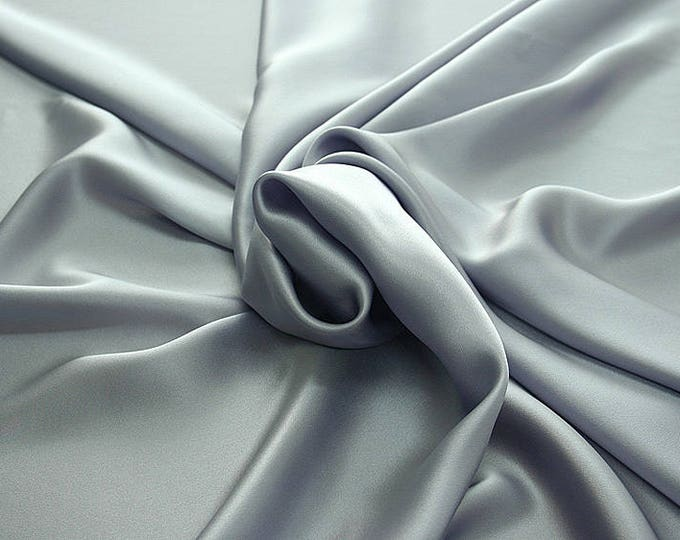 812214-Crepe Satin, natural silk 100%, wide 135/140 cm, dry wash, weight 98 gr, price 0.25 meters: 12.68 Euros