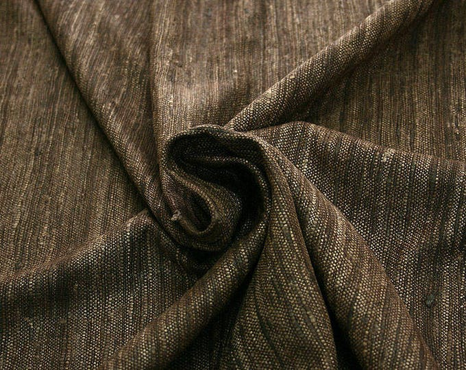 451022-Rustica, natural silk 100%, width 135/140 cm, dry washing, Weight 360 gr, price 0.25 meters: 9.72 Euros