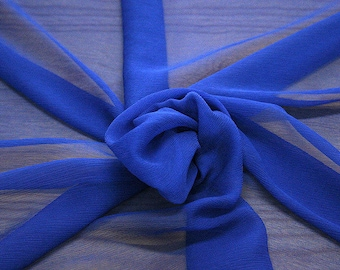 326141-natural Silk Chiffon 100%, wide 127/130 cm, made in Italy, dry cleaning, weight 29 gr, price 1 meter: 31.76 Euros
