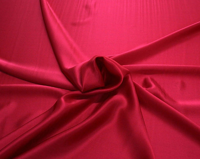 812106-Crepe Satin, natural silk 100%, wide 135/140 cm, made in Italy, dry washing, weight 98 gr, price 0.25 meters: 12.68 Euros