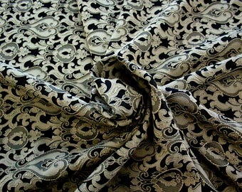 990071-201 Brocade-95% PL, 5 PA, 130 cm wide, made in Italy, dry washing, weight 205 gr, Price 0.25 meters: 13.74 Euros