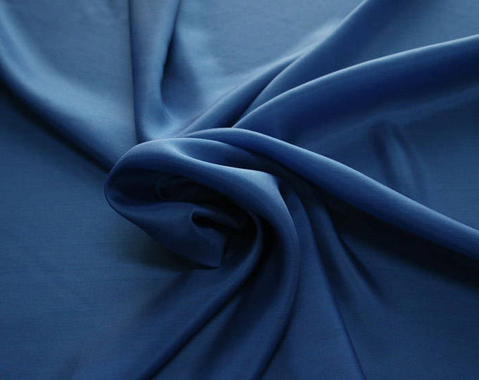 402141-taffeta, natural silk 100%, wide 110 cm, made in India, dry washing, weight 58 gr, Price 0.25 meters: 6.63 Euros