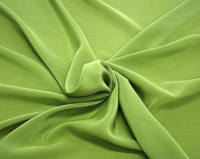 301088-Crepe de Chine, natural silk 100%, wide 135/140 cm, dry wash, weight 88 gr, price 0.25 meters: 11.35 Euros