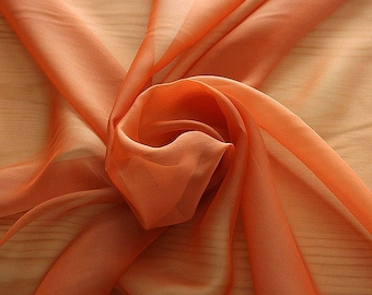 221041-Mouseline Cangiante, silk 100%, wide 135 cm, litmus, made in Italy, dry washing, weight 35 gr, Price 0.25 meters: 13.81 Euros