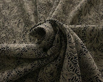 990091-010 JACQUARD-Pl 86%, Pa 12, Ea 2, Width 150 cm, made in Italy, dry wash, weight 368 gr, Price 0.25 meters: 14.30 Euros