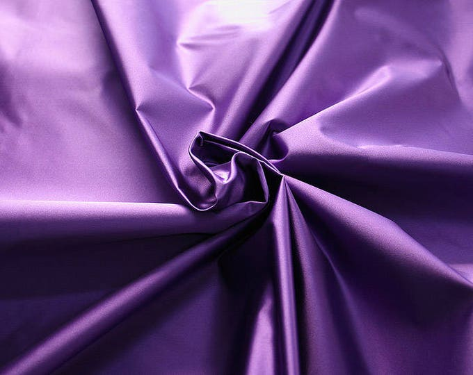 276215-satin, natural silk 100%, wide 135/140 cm, made in Italy, dry wash, weight 180 gr, price 0.25 meters: 33.48 Euros