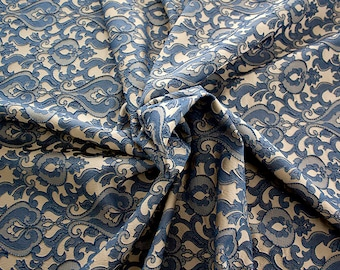 990071-155 Brocade-95% PL, 5 PA, 130 cm wide, made in Italy, dry washing, weight 205 gr, Price 0.25 meters: 13.74 Euros