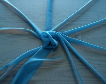 316161-Georgette, natural silk 100%, wide 135/140 cm, dry wash, weight 50 gr, price 0.25 meters: 9.08 Euros