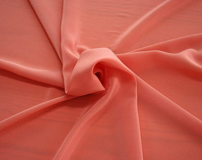 301105-crepe de Chine natural silk 100%, wide 135/140 cm, made in Italy, dry cleaning, weight 88 gr, price 1 meter: 45.38 Euros