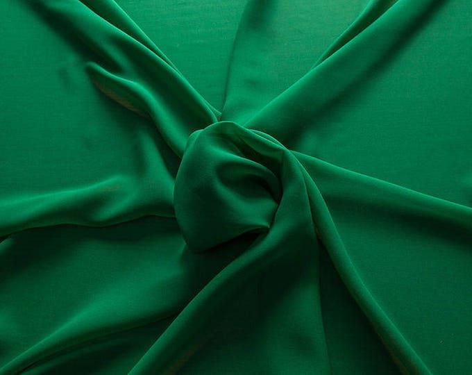 1716-082-Georgette, natural silk 100%, wide 135/140 cm, dry wash, weight 60 gr, Price 0.25 meters: 10.59 Euros