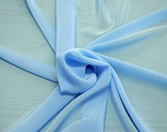 301145-crepe de Chine natural silk 100%, wide 135/140 cm, made in Italy, dry cleaning, weight 88 gr, price 1 meter: 45.38 Euros