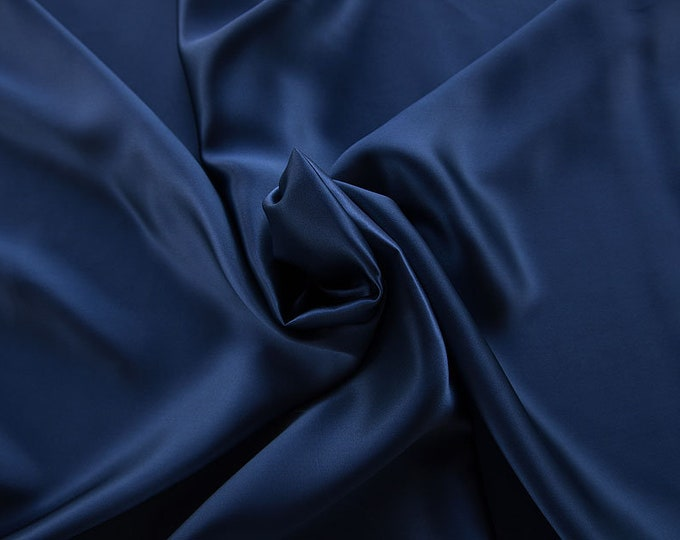 1712-157-Crepe Satin, natural silk 100%, wide 135/140 cm, made in Italy, dry washing, weight 100 gr, price 0.25 meters: 14.72 Euros