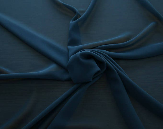 1716-157-natural Silk Georgette 100%, wide 135/140 cm, made in Italy, dry cleaning, weight 60 gr, price 1 meter: 42.35 Euros