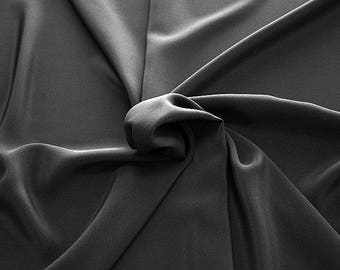301201-crepe de Chine natural silk 100%, wide 135/140 cm, made in Italy, dry cleaning, weight 88 gr, price 1 meter: 45.38 Euros