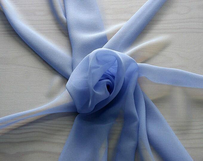 316149-Georgette, natural silk 100%, wide 135/140 cm, dry wash, weight 50 gr, price 0.25 meters: 9.08 Euros