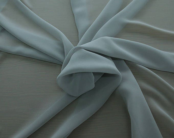 1716-181-natural Silk Georgette 100%, wide 135/140 cm, made in Italy, dry cleaning, weight 60 gr, price 1 meter: 42.35 Euros