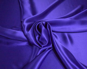 1712-216-Crepe Satin, natural silk 100%, wide 135/140 cm, dry wash, weight 100 gr, price 0.25 meters: 14.72 Euros