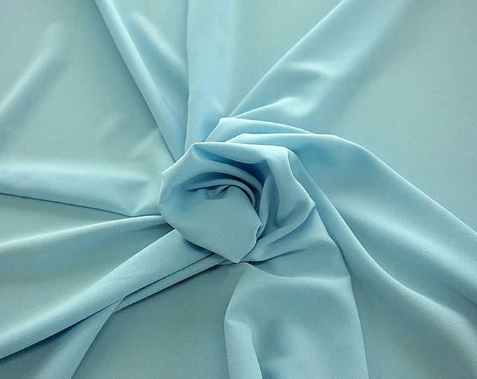 905150-Crepe 100% Polyester, 150 cm wide, made in Italy, dry washing, weight 306 gr, Price 0.25 meters: 8.14 Euros