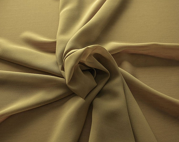 1716-093-natural Silk Georgette 100%, wide 135/140 cm, made in Italy, dry cleaning, weight 60 gr, price 1 meter: 42.35 Euros