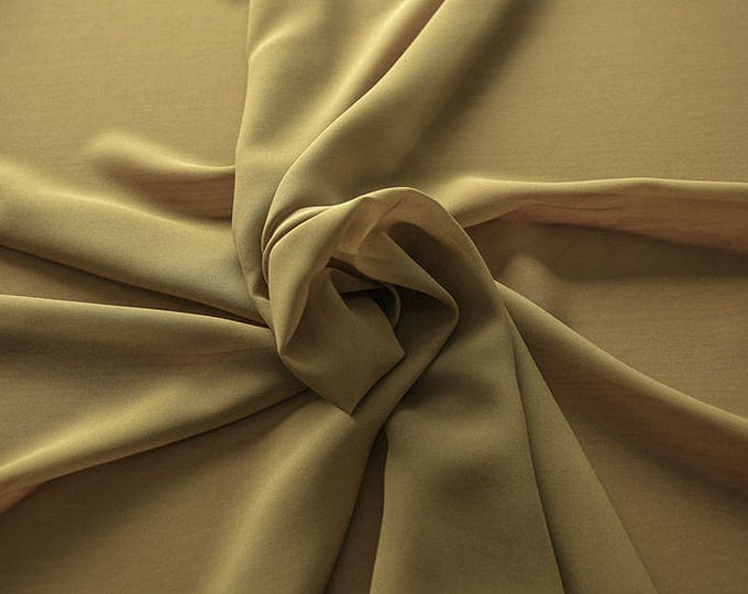 1716-093-Georgette, natural silk 100%, wide 135/140 cm, made in Italy, dry washing, weight 60 gr, Price 0.25 meters: 10.59 Euros
