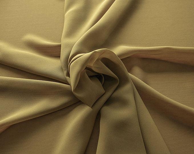 1716-093-Georgette, natural silk 100%, wide 135/140 cm, dry wash, weight 60 gr, Price 0.25 meters: 10.59 Euros