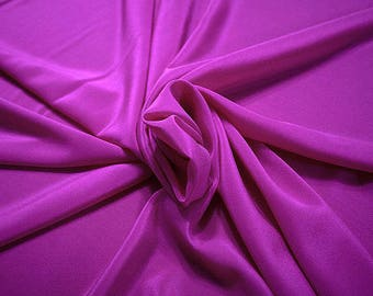 301131-crepe de Chine natural silk 100%, wide 135/140 cm, made in Italy, dry cleaning, weight 88 gr, price 1 meter: 45.38 Euros
