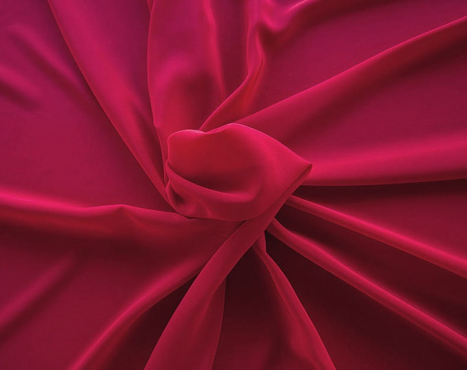 301106-Crepe de Chine, natural silk 100%, wide 135/140 cm, dry wash, weight 88 gr, price 0.25 meters: 11.35 Euros