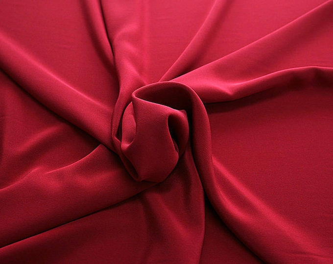 305114-Crepe marocaine, natural silk 100%, wide 130/140 cm, dry washing, weight 215 gr, Price 0.25 meters: 26.09 Euros