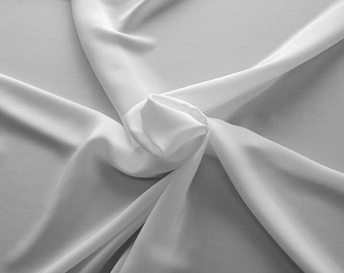 1712-001-Crepe Satin, natural silk 100%, wide 135/140 cm, dry wash, weight 100 gr, price 0.25 meters: 14.72 Euros