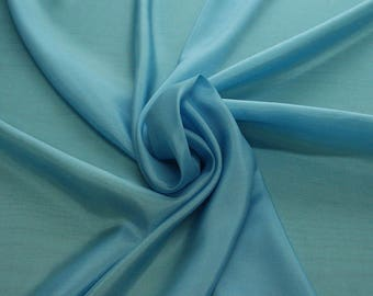 402143-taffeta, natural silk 100%, wide 110 cm, made in India, dry washing, weight 58 gr, Price 0.25 meters: 6.63 Euros