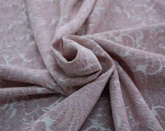 990092-140 JACQUARD-Pl 86%, Pa 12, Ea 2, 150 cm wide, manufactured in Italy, dry cleaning, weight 368 gr, price 1 meter: 57.17 Euros