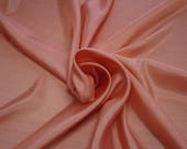 402050-taffeta, natural silk 100 , wide 110 cm, made in India, dry washing, weight 58 gr, Price 0.25 meters 6.63 Euros
