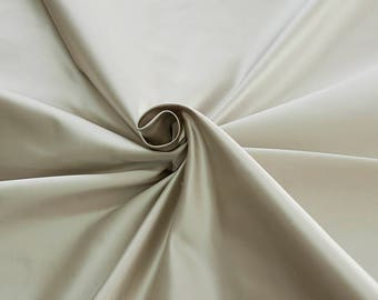 876011-natural silk satin 100%, 135/140 cm wide, manufactured in Italy, dry cleaning, weight 190 gr, price 1 meter: 126.75 Euros