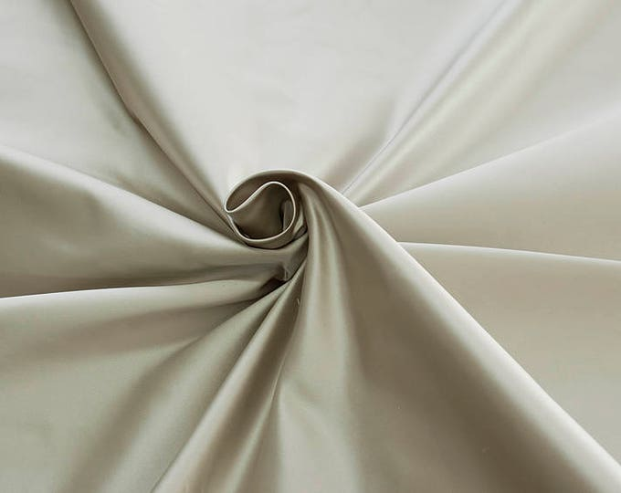 876011-satin, natural silk 100%, wide 135/140 cm, made in Italy, dry wash, weight 190 gr, price 0.25 meters: 31.69 Euros