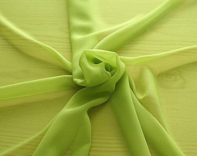 316087-Georgette, natural silk 100%, wide 135/140 cm, dry wash, weight 50 gr, price 0.25 meters: 9.08 Euros