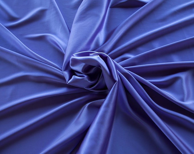 1713-206-crepe Satin Silk 97%, 6 Lycra, 135 cm wide, made in Italy, dry washing, weight 100 gr, price 0.25 meters: 14.72 Euros