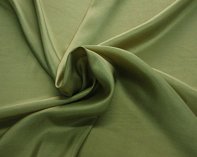 402090-taffeta, natural silk 100%, width 110 cm, dry washing, weight 58 gr, Price 0.25 meters: 6.63 Euros