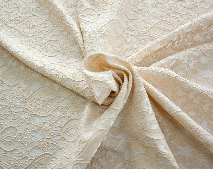 990071-007 Brocade-95% PL, 5 PA, 130 cm wide, made in Italy, dry washing, weight 205 gr, Price 0.25 meters: 13.74 Euros