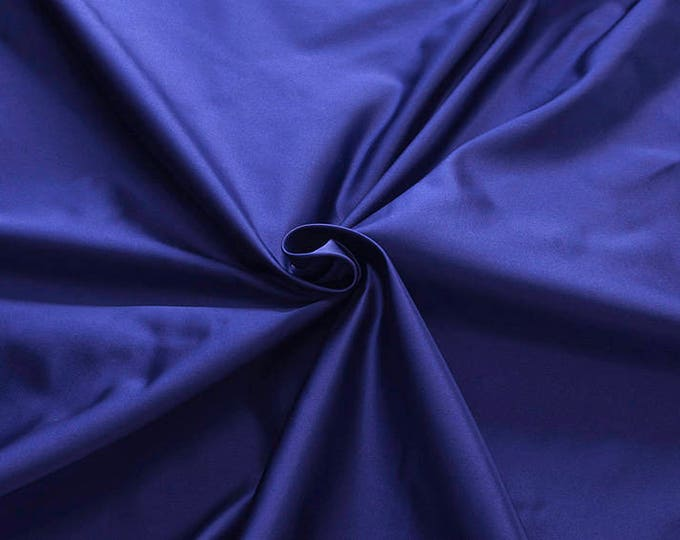 876159-satin, natural silk 100%, wide 135/140 cm, made in Italy, dry wash, weight 190 gr, price 0.25 meters: 31.69 Euros