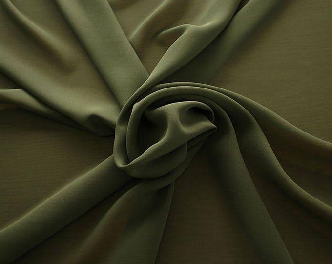 1716-099-Georgette, natural silk 100%, wide 135/140 cm, dry wash, weight 60 gr, Price 0.25 meters: 10.59 Euros