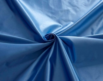 876144-natural silk satin 100%, 135/140 cm wide, manufactured in Italy, dry cleaning, weight 190 gr, price 1 meter: 126.75 Euros
