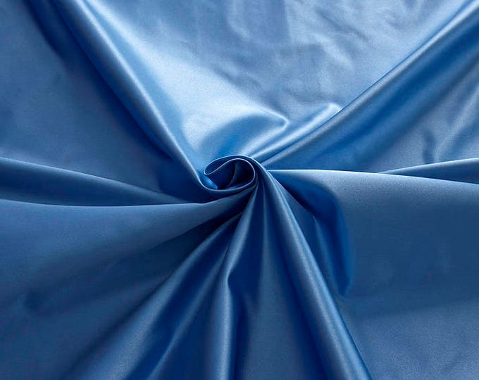876144-satin, natural silk 100%, wide 135/140 cm, made in Italy, dry wash, weight 190 gr, price 0.25 meters: 31.69 Euros