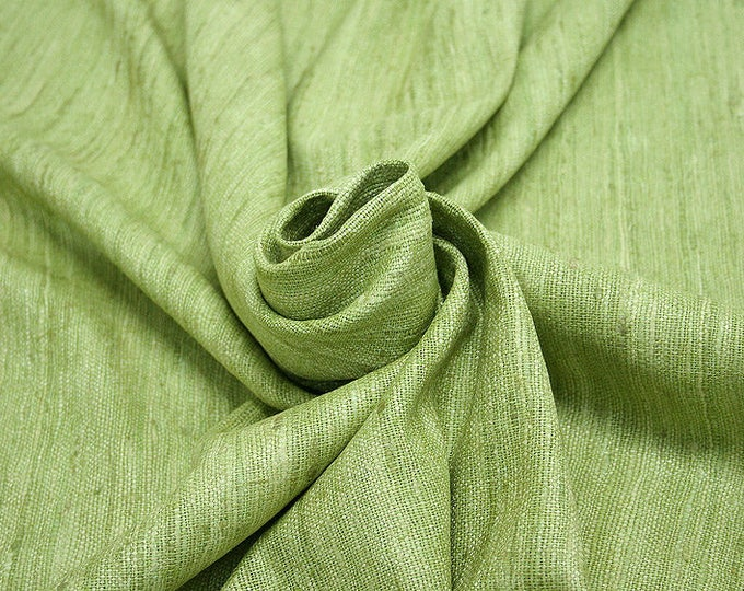 451089-Rustica, natural silk 100%, width 135/140 cm, dry washing, Weight 360 gr, price 0.25 meters: 9.72 Euros