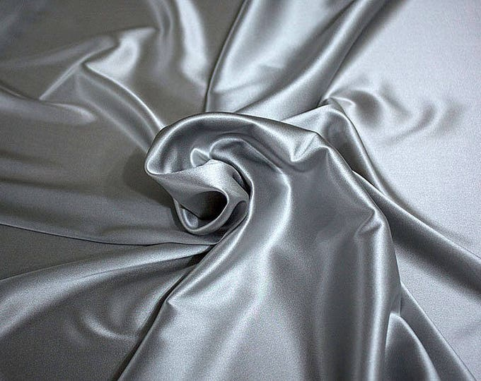 1713-181-crepe Satin Silk 97%, 6 Lycra, 135 cm wide, made in Italy, dry washing, weight 100 gr, price 0.25 meters: 14.72 Euros