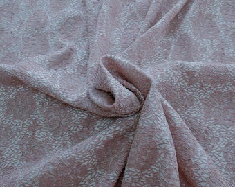 990091-140 JACQUARD-Pl 86%, Pa 12, Ea 2, Width 150 cm, dry wash, weight 368 gr, Price 0.25 meters: 14.30 Euros