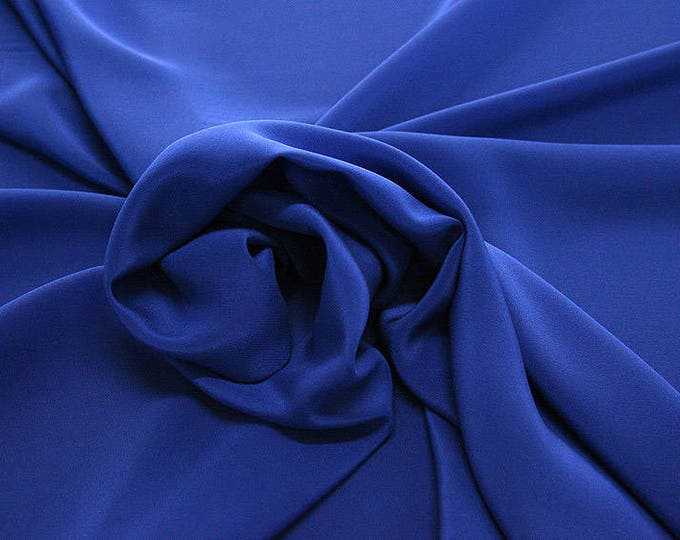 301141-Crepe de Chine, natural silk 100%, wide 135/140 cm, dry wash, weight 88 gr, price 0.25 meters: 11.35 Euros