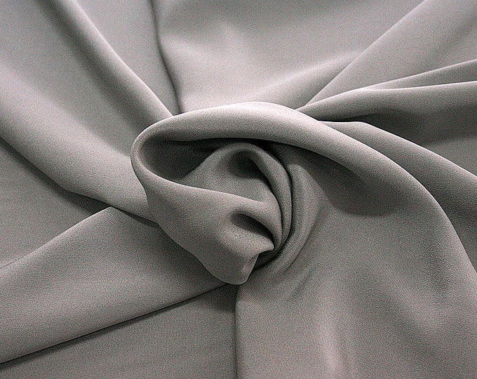 305186-Crepe marocaine, natural silk 100%, wide 130/140 cm, made in Italy, dry washing, weight 215 gr, Price 0.25 meters: 26.09 Euros