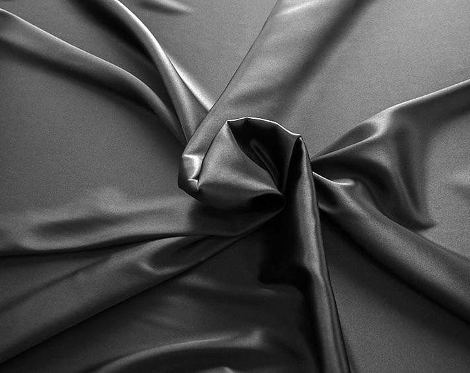 1713-201-crepe Satin Silk 97%, 6 Lycra, 135 cm wide, made in Italy, dry washing, weight 100 gr, price 0.25 meters: 14.72 Euros