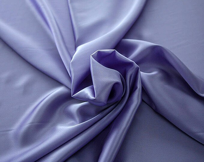 1712-206-Crepe Satin, natural silk 100%, wide 135/140 cm, dry wash, weight 100 gr, price 0.25 meters: 14.72 Euros